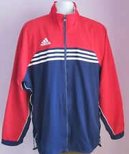 VTG Mens ADIDAS Navy/Red/White Training Sport Top Size Extra Large (N16)