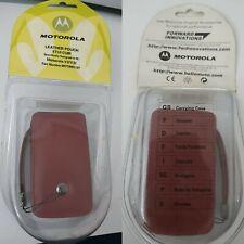 NEW Motorola Case Original Cover Leather Case v3 Genuine Pouch Etui cuir