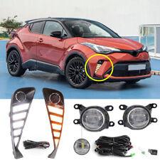 For Toyota C-HR CHR 2020 2021 LED Daytime running lights LED Front Fog Light Kit