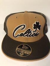 New Era Cap NBA Boston Celtics size 7 3/4 - VINTAGE, VERY RARE & UNIQUE, NEW