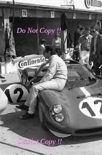 Pedro Rodriguez Ferrari Dino 206S Nurburgring 1000 Km's 1966 Photograph