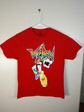 VOLTRON Transformers 100% Cotton T Shirt Size - Large