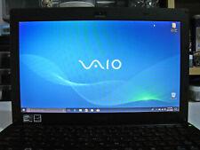 SONY VAIO X VPCX13ALJ UMPC SLIM DVD INTEL Z550 2.00GHz 2GB RAM 128GB SSD WIN 10