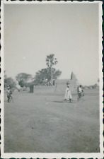Burkina Faso, la mosquée de Bili Bambili Vintage silver printPhotographie appa
