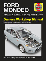 Ford Mondeo 2007-2014 Repair Manual