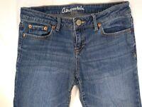 Aeropostale Women Jeans 8 Bayla Skinny Slim Denim Blue