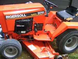 case ingersoll 3018 riding mower onan 18hp motor