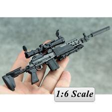 "1:6 1/6 Scale 12"" Action Figures Weapon MK14 MODO Assault Rifle Model Gun Toy"