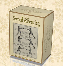 75 Sword Fencing Books on DVD Learn Swordmanship Rapier Broadsword Foil Épée 25