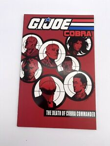 G.I. Joe Cobra Vol 4 Death of Cobra Commander Graphic Novel