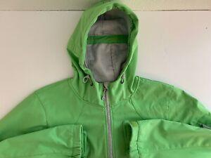 Black Diamond Soft Shell Hooded Jacket, Women's Large, Green