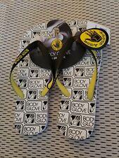 Body Glove Men's Old Skool Flip-Flop Sandals Parallax Size 9 beach pool