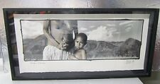 *** Phil Borges Enduring Spirit Collection Irian Jay Framed Photograph ***