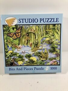 1000 Bits and Pieces Puzzle - Lily Pond Janet Skiles
