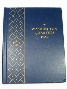 39 UNC & Proof Washington Quarters in 1965-80 Whitman #9419 Album.  #67
