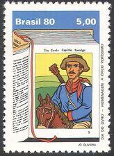 BRASILE 1980 Cavallo/Cowboy/MUSICA/Libri Giorno/SCRITTORI LETTERATURA/1 V (n28060)