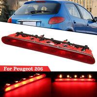 LED Haut Niveau Troisième Feux Frein Arrière Auxiliaire pour Peugeot 206 6350K5