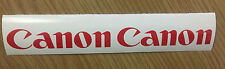 2 x Canon Logo Decals / Stickers + Free Postage
