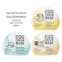 [too cool for school] Egg Cream Mask 28g without Box [Hydration, Pore, Firming]