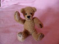 Künstlerteddy Teddybär Bär GLÜCKSTEDDY Talisman Maskottchen 13 cm