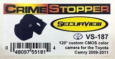NEW Crimestopper VS-187 Custom BackUp Camera for 2009-2011 Toyota Camry