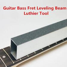 "10"" Folk Guitar Bass Fret Leveling File Aluminum Beam Luthier Tool Accessory New"