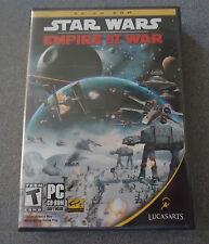 Star Wars: Empire at War  PC CD-ROM  WIN 2000/XP 2006    NEW