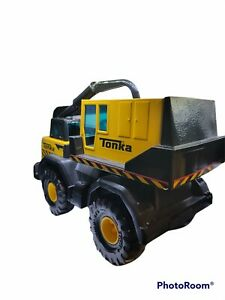 Tonka Backhoe Crane  #T04 XMB-975 Large Metal Toy Truck (Hasbro 2013) Mint