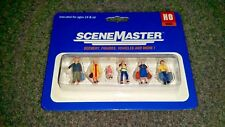 Walthers Scene Master 6 Painted Ready to Board Passengers HO scale. NIB