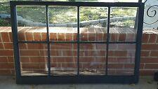 VINTAGE SASH ANTIQUE WOOD WINDOW UNIQUE FRAME PINTEREST WEDDING 36x28 BLACK