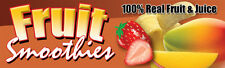 "18""x60"" - Fruit Smoothie - Concession Banner"