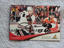 Chicago Blackhawks Dylan Olsen Signed 11/12 Pinnacle Rookie Card Auto