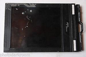 """Fidelity Deluxe Plastic Film Holder for 4x5"""" Cut Sheet Film - USED H256"""