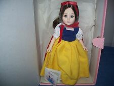 Vintage 1987 Effanbee Storybook Collection Snow White Doll # 1180 w/ Box