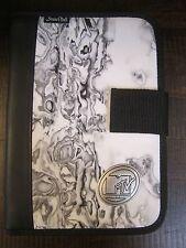 mtv Music Television M TV  Planner Black white gray marble like cover w/ logo