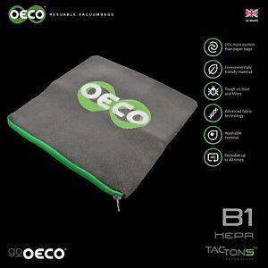 OECO® Bosch G Type Reusable hoover bags For BSG6 BSG7 BSGL3126GB GL30 ProEnergy