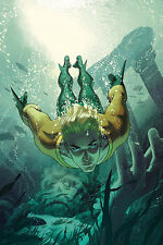 Aquaman #4 Joshua Middleton Variant DC Rebirth Comic