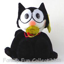 Felix The Cat~1990s Aa Plush~Stuffed Doll~Pacifier Baby~Binky Figure Toy~New Nos