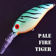 Deep diving PALE FIRE TIGER crankbaits bass fishing lures