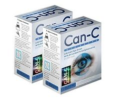 Can-C Eye-Drops: Cataract Treatment Without Surgery 2 Pack, 4 x 5ml Vials