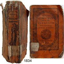 Nouvel Astrologue français almanach universel 1834 Buqcello's Lille Castiaux