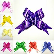 Pull Bows 30MM HEART DESIGNS Ribbon Wedding Car Decorations MIX COLOURS CHEAP