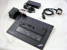 Nuevo Lenovo Thinkpad T430 USB 3.0 Estación De Acoplamiento Replicador De Puertos + Adaptador de CA