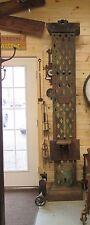 RARE Antique H.B. Smith Door Mortising Machine - HUGE. KILLER INDUSTRIAL BEAUTY