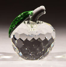 New Crystal World Crystal Apple Figurine