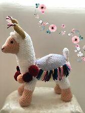Lama Handmade Knitted Doll Toy Handmade Amigurumi Stuffed Animal Knit Crochet
