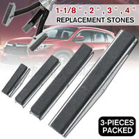 3Pcs Replacement Engine Cylinder Hone Shaft Stones Honing Tool 1-1/8'' 2''