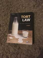 Tort Law Kirsty Horsey and Erika Rackley 4th Edition