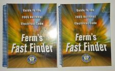 Ferm's Fast Finder Guide to the 2005 National Electrical Code Volume 1 and 2