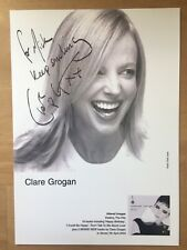 Clare Grogan (Altered Images) - Hand signed / Autographed Photo.